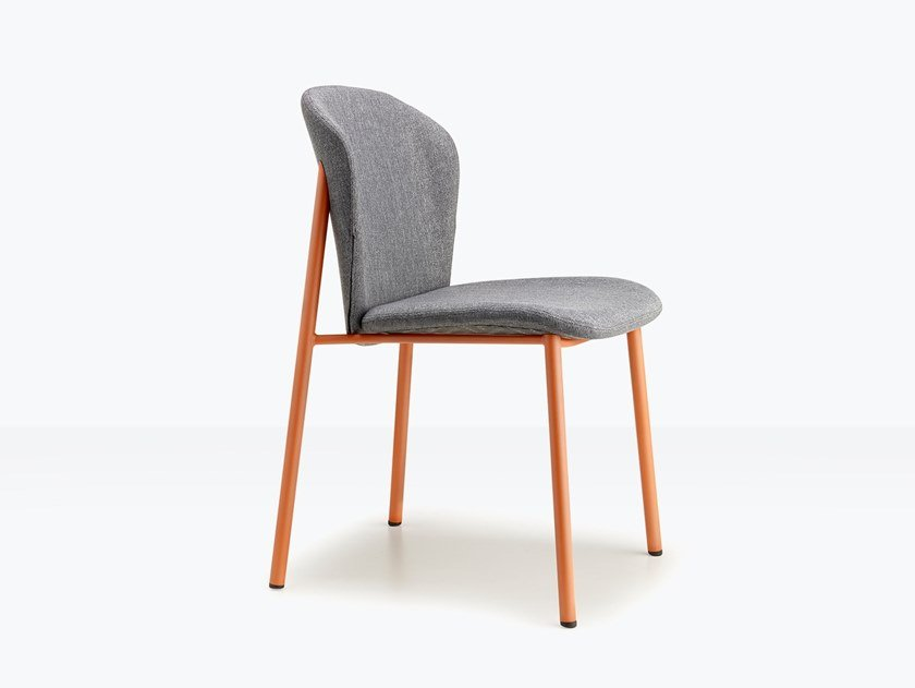 Upholstered steel chair FINN | Chair by SCAB DESIGN