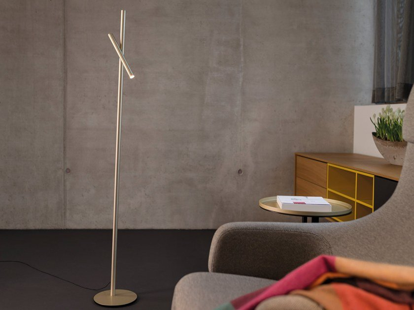 LED adjustable floor lamp FINO FLOOR by Sattler