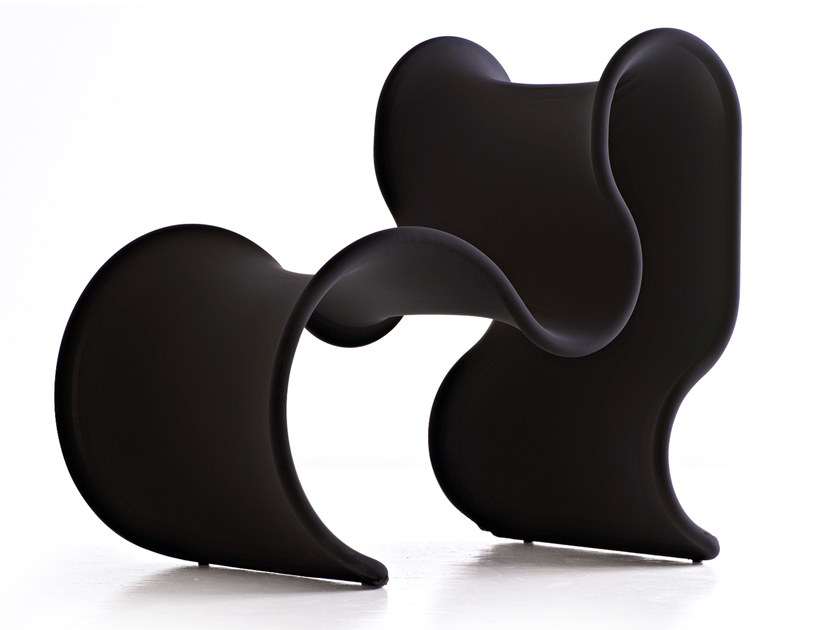 Fabric armchair FIOCCO by Busnelli