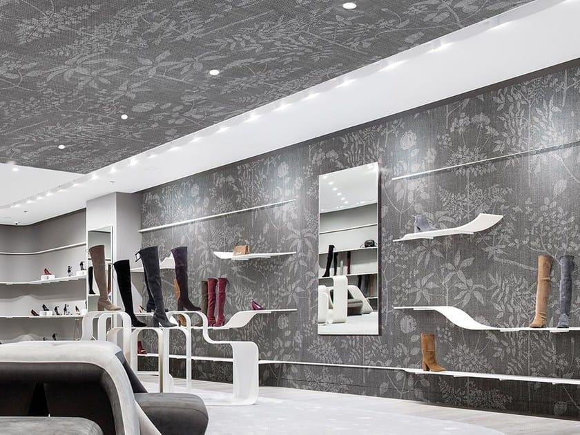 Wallpaper with floral pattern FIORANTE by Adriani e Rossi edizioni