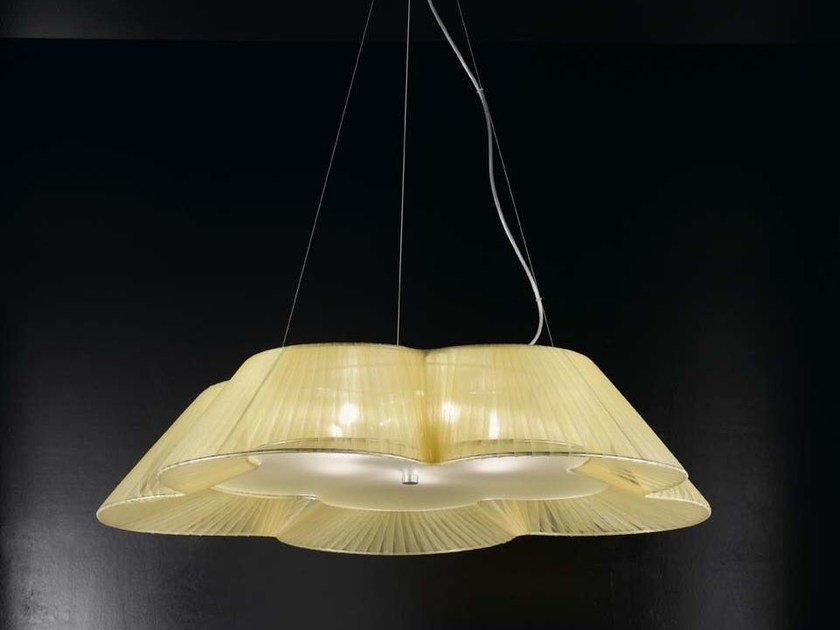 Direct light organza pendant lamp FIORE | Pendant lamp by IDL EXPORT