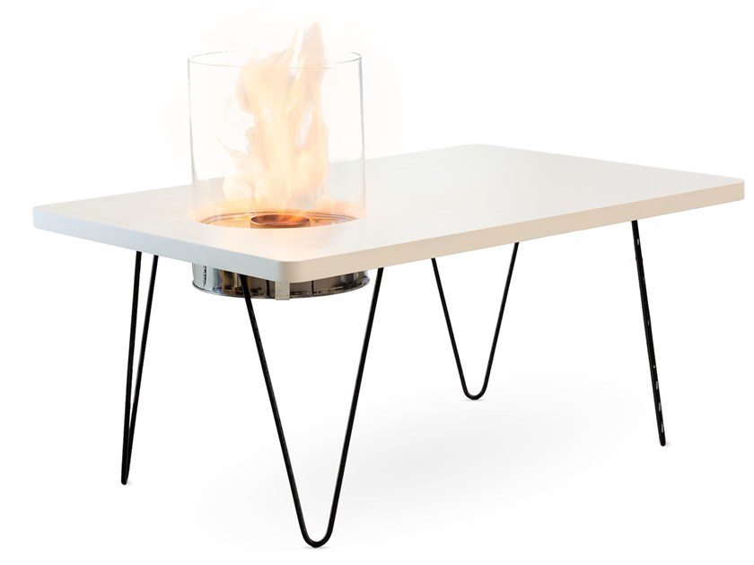 Fireplace / coffee table FIRE TABLE MINI by Planika