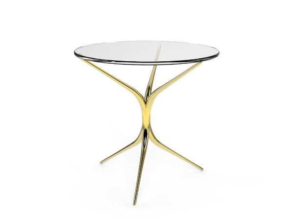 Round side table FIRENZE | Side table by Duquesa & Malvada
