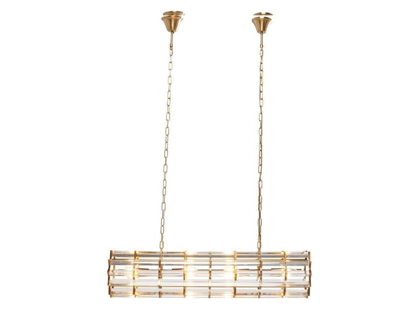 Glass and steel pendant lamp FIRESTARTER   Pendant lamp by KARE-DESIGN