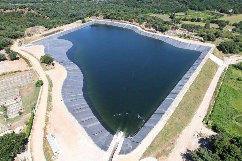 FIRESTONE GEOGARD™ EPDM Bacino di raccolta acqua