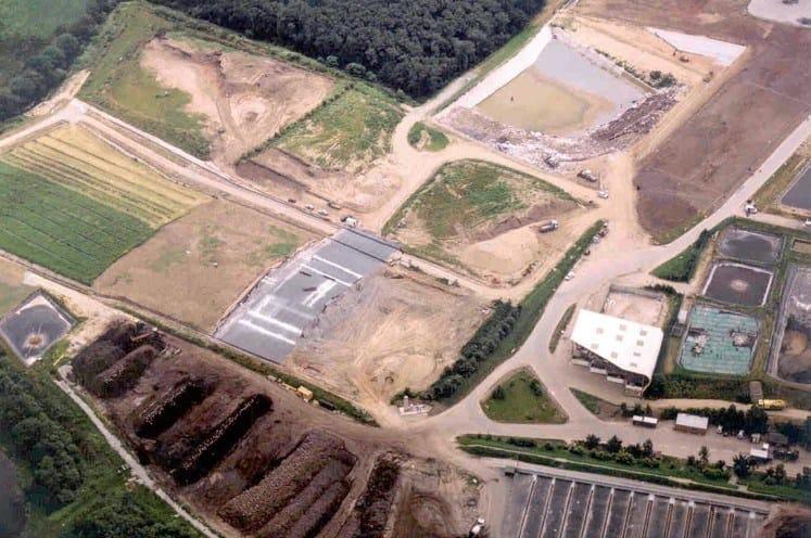 FIRESTONE GEOGARD™ EPDM Copertura di discariche esaurite, Francia