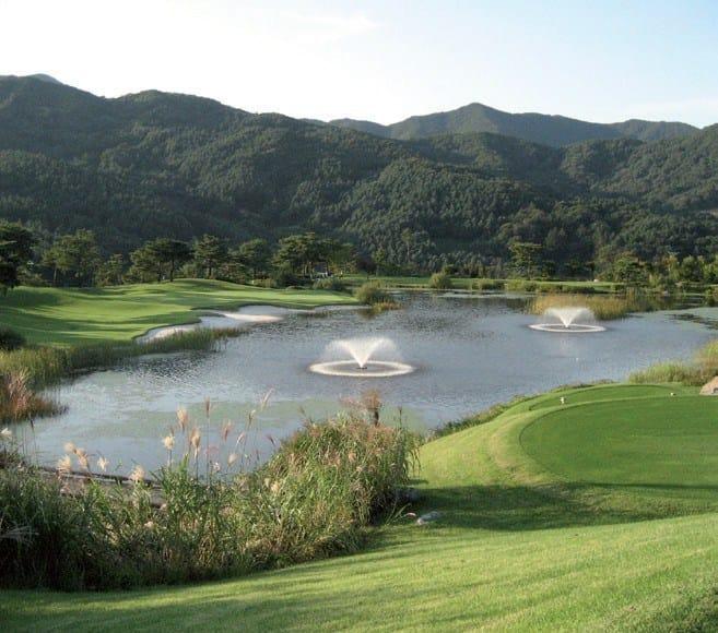 FIRESTONE GEOGARD™ EPDM Laghetto per campi da golf, Corea del Sud