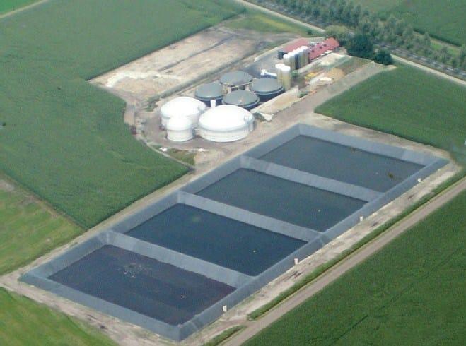 FIRESTONE GEOGARD™ EPDM Contenimento di acque reflue, Olanda