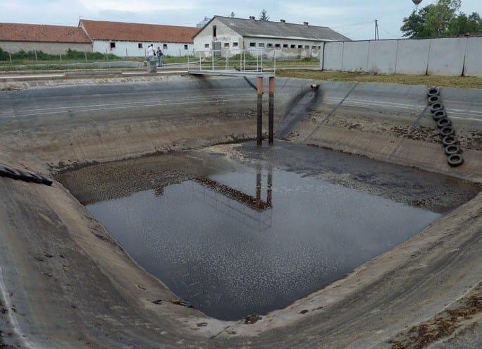 FIRESTONE GEOGARD™ EPDM Vasca per liquami di allevamento, Ungheria