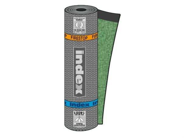 Prefabricated bituminous membrane FIRESTOP by INDEX