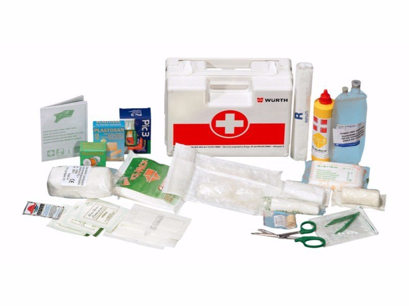 First Aid cabinet First-aid case a2 By Würth