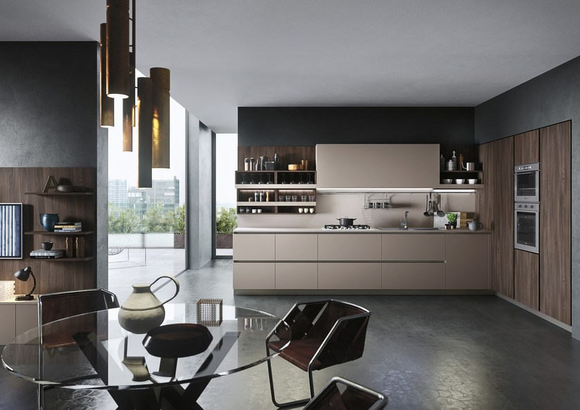 FIRST | Contemporary style kitchen By Snaidero
