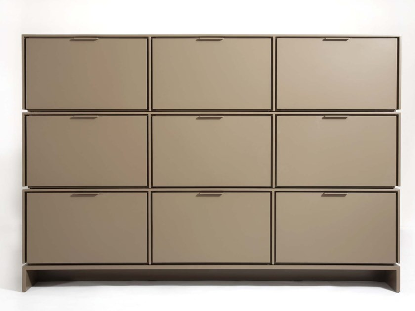 Modular highboard with flap doors FIT | Highboard by HMD INTERIORS