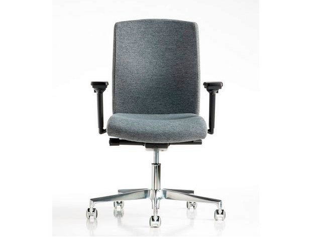 Task chair with 5-Spoke base with casters FIT   Task chair with 5-Spoke base by Diemme
