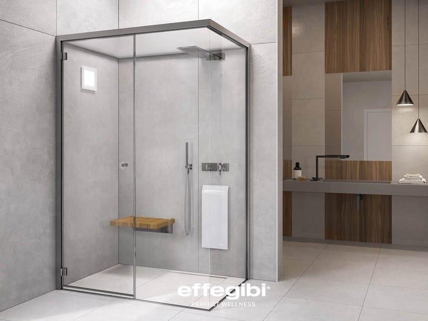Design Bagno Con Doccia : Bagno turco con doccia fitbox by effegibi design talocci design