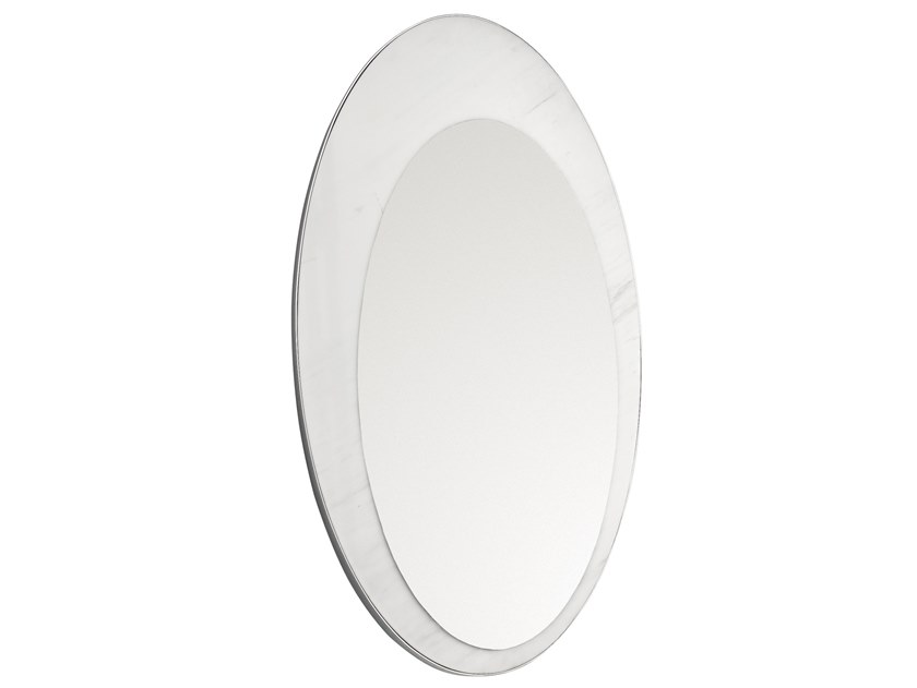 Oval wall-mounted mirror FIVE.02 by OIA Design