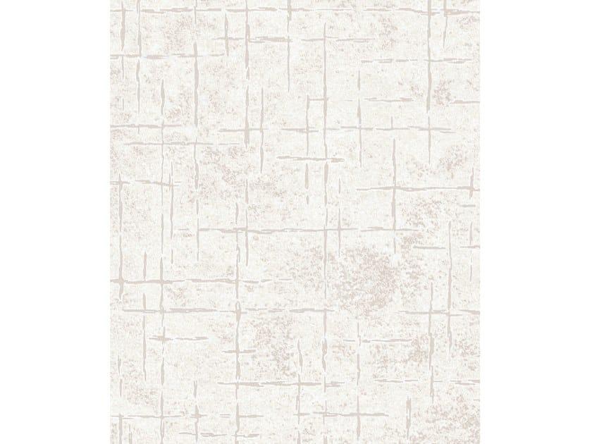 Handmade rectangular rug FIVE WHITE by Tapis Rouge