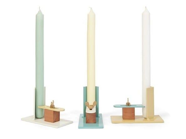 Metal candle holder FIXUM by Vij5