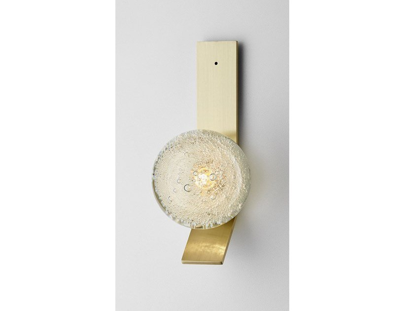 LED wall lamp FIZI SINGLE BALL | Wall light by Articolo Lighting