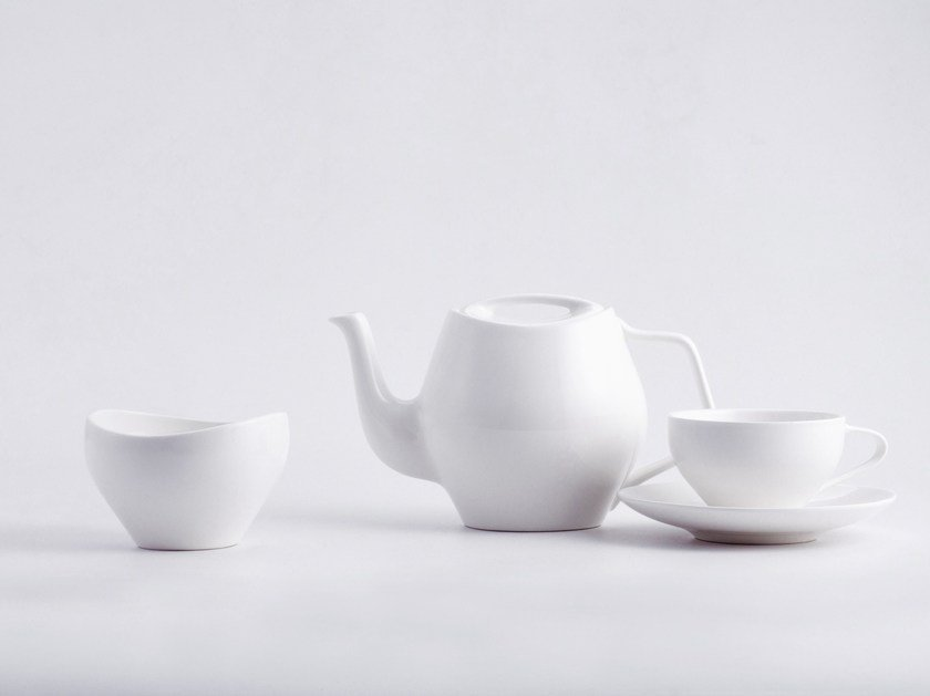 Porcelain tea set FJ ESSENCE by Architectmade