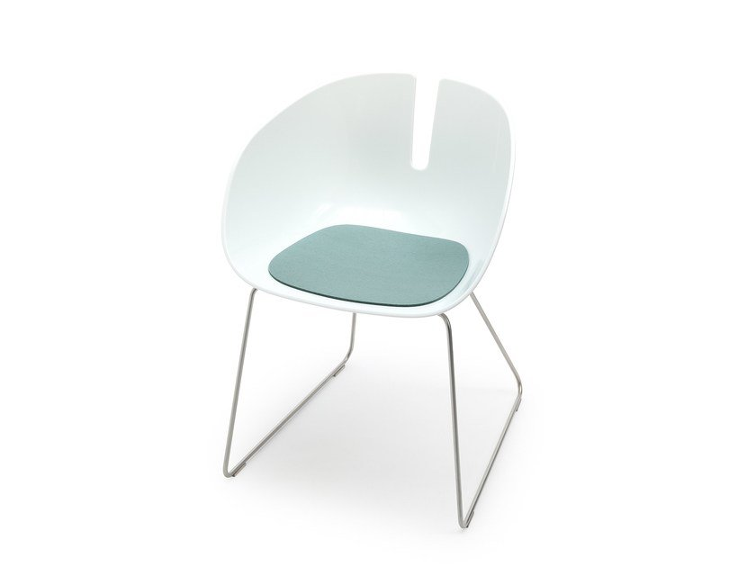 Felt chair cushion FJORD by HEY-SIGN