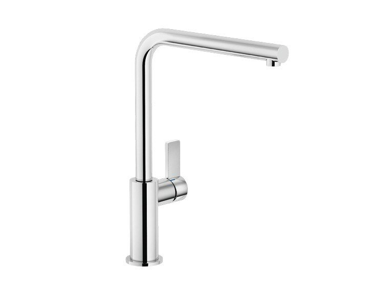Countertop kitchen mixer tap with swivel spout FLAG | Kitchen mixer tap by Nobili Rubinetterie