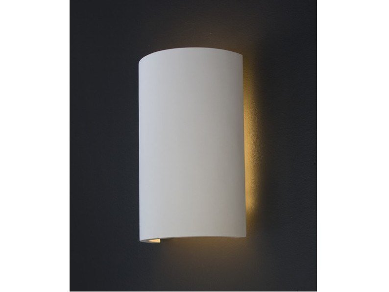 Plaster wall light FLAGEY by GESSO