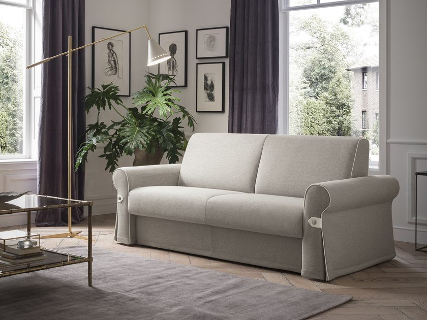 3 seater fabric sofa bed FLAIR by Felis