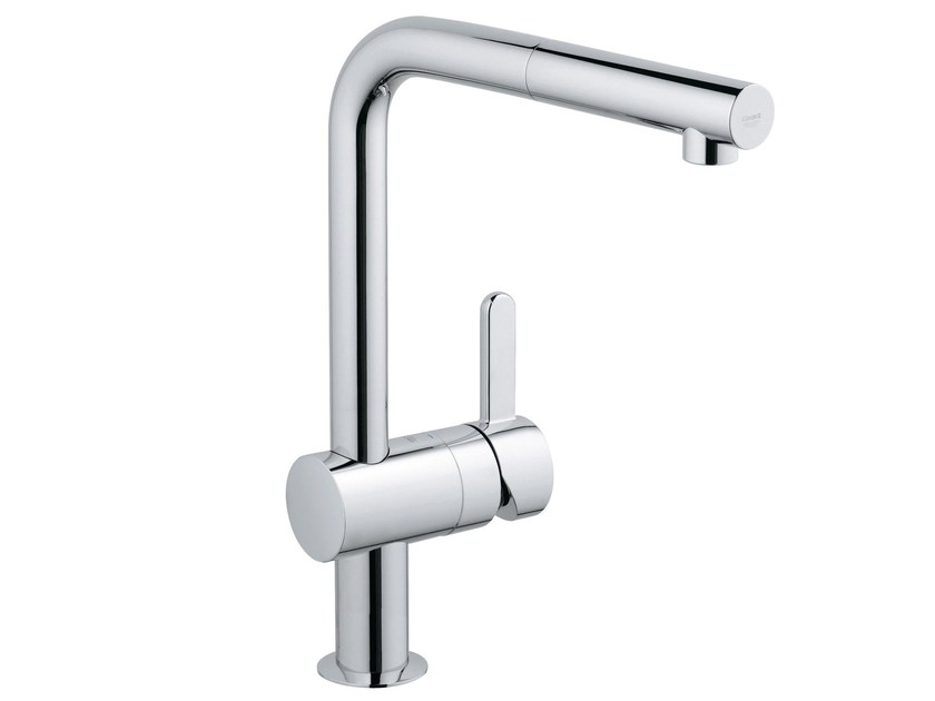 Kitchen mixer tap with pull out spray FLAIR by Grohe