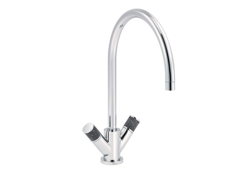 Contemporary style countertop 1 hole kitchen mixer tap FLAMANT DOCKS | 1 hole kitchen mixer tap by rvb