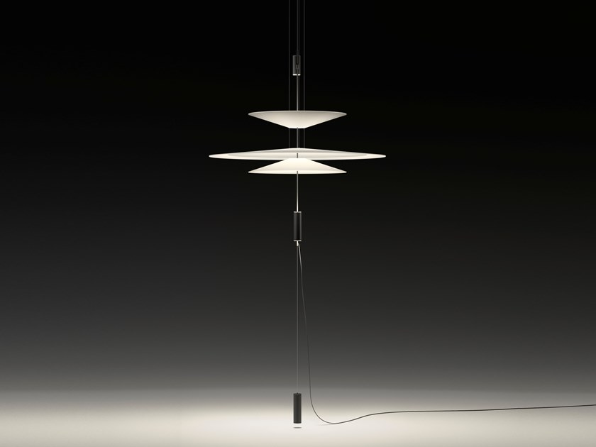 LED pendant lamp with dimmer FLAMINGO 1535 | Pendant lamp by Vibia