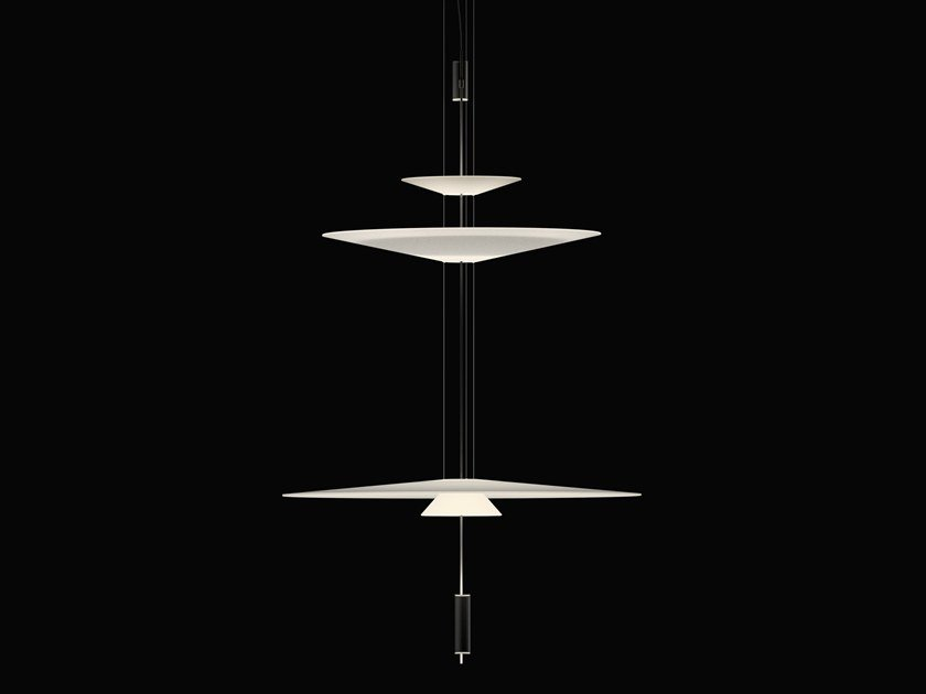 LED pendant lamp with dimmer FLAMINGO 1560 | Pendant lamp by Vibia