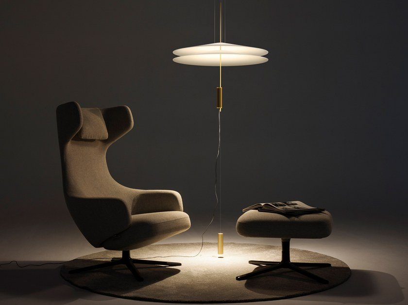 LED pendant lamp with dimmer FLAMINGO 1515 | Pendant lamp by Vibia