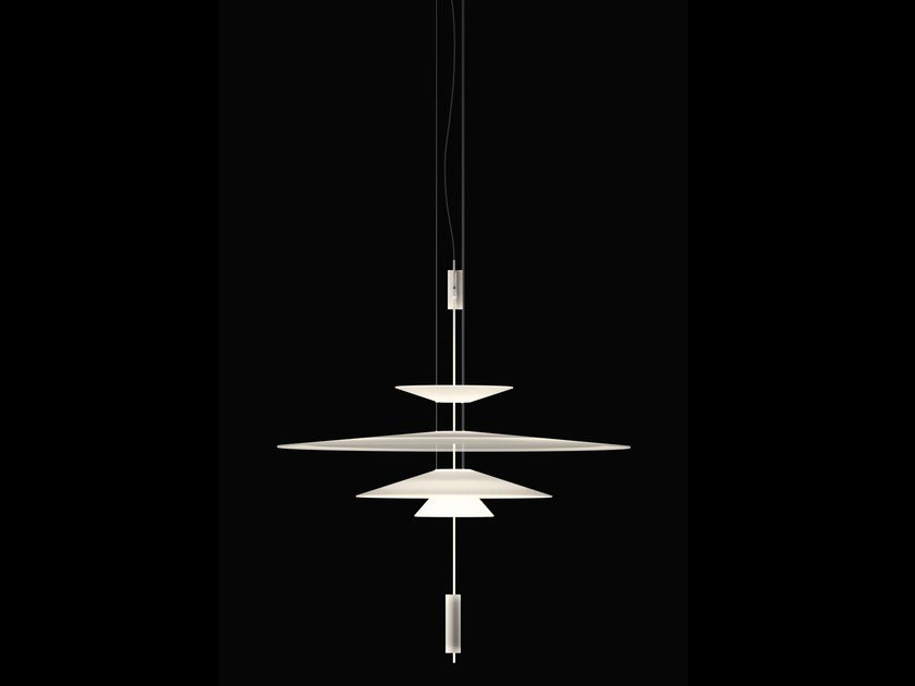 LED pendant lamp with dimmer FLAMINGO 1550 | Pendant lamp by Vibia