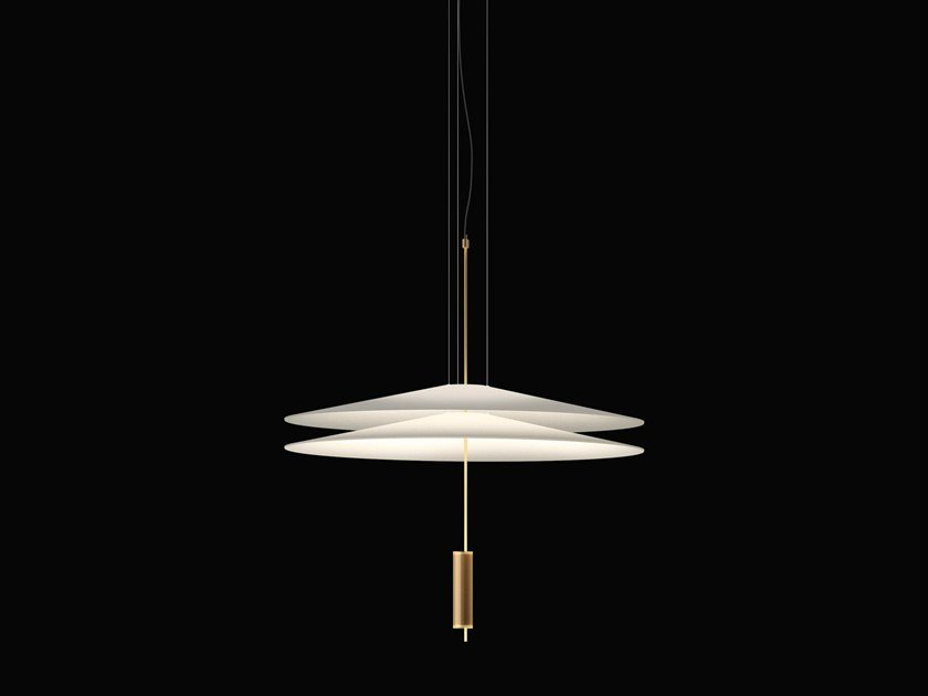 LED pendant lamp with dimmer FLAMINGO 1510 by Vibia