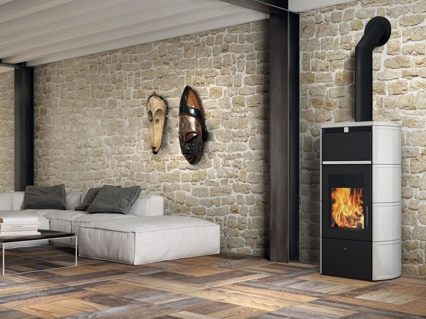 Wood Heating stove FLAMMA / FLAMMA CS by EDILKAMIN