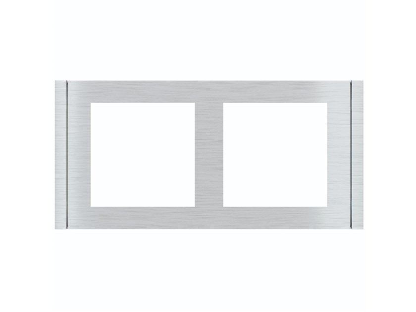 Wall plate FLANK Double plate by EKINEX