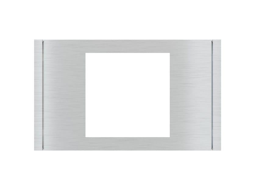 Wall plate FLANK Rectangular plate by Ekinex