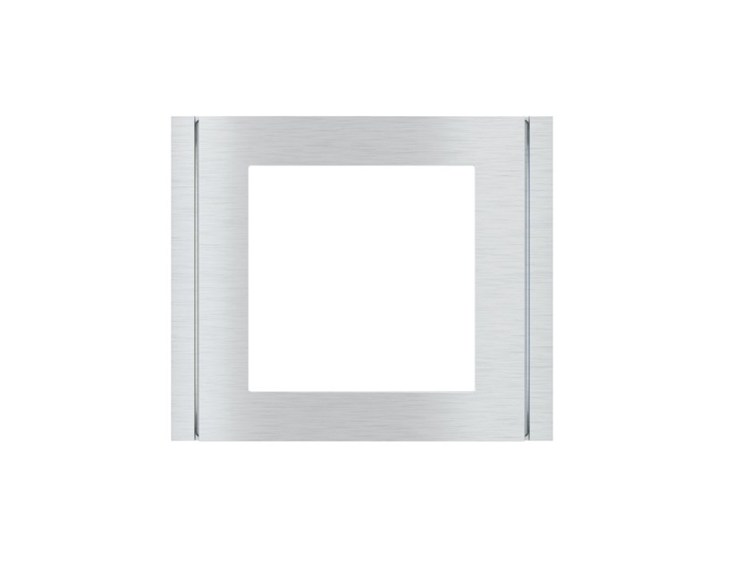 Wall plate FLANK Square plate by Ekinex