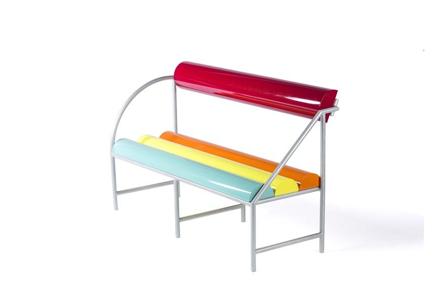 Aluminium bench FLASH by altreforme