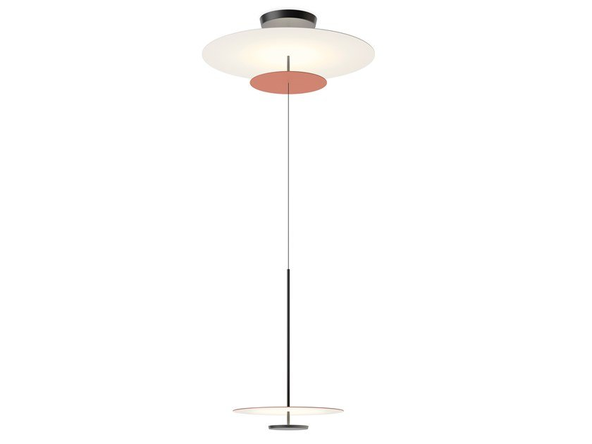 LED metal pendant lamp FLAT 5930 | Pendant lamp by Vibia