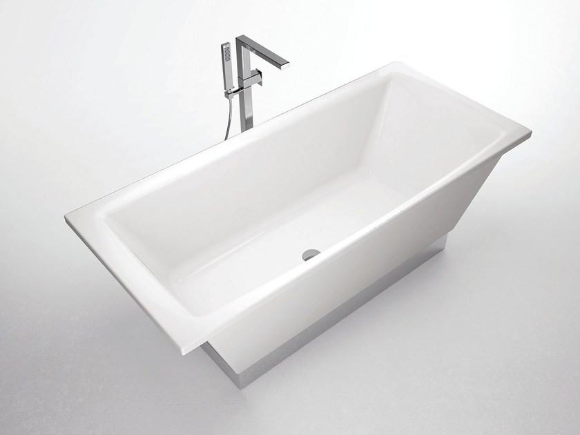 Rectangular bathtub FLAT | Bathtub by Hidra Ceramica