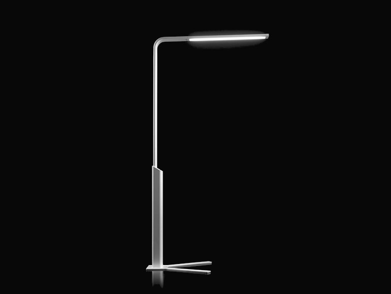 LED floor lamp FLAT by FLUVIA