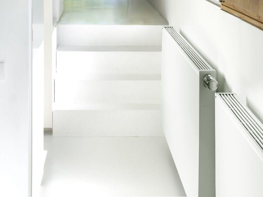 Horizontal steel panel radiator FLAT LINE by VASCO