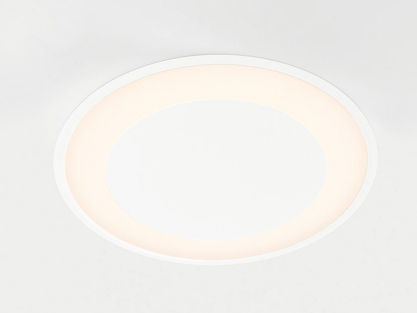 LED recessed ceiling lamp FLAT MOON ECLIPS   Recessed ceiling lamp by Modular Lighting Instruments