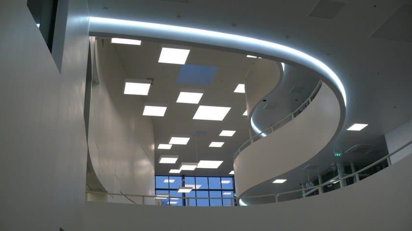 system A Lampada Es Da Soffitto Office Incasso Flat SMVqzpU