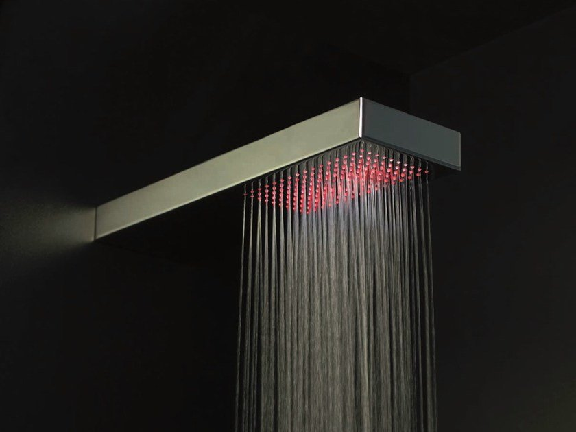 Wall-mounted overhead shower for chromotherapy FLAT | Wall-mounted overhead shower by Gattoni Rubinetteria