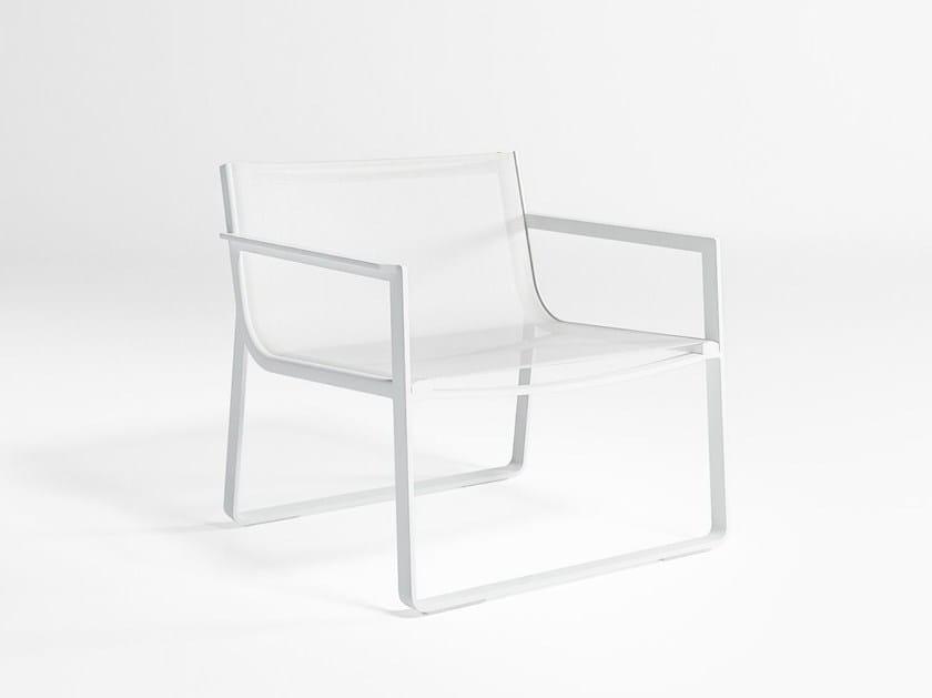 Batyline® garden armchair with armrests FLAT TEXTIL | Garden armchair by GANDIA BLASCO