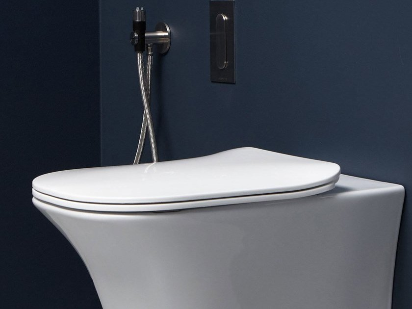 Sedile wc in resina FLAT | Sedile wc by Antonio Lupi Design