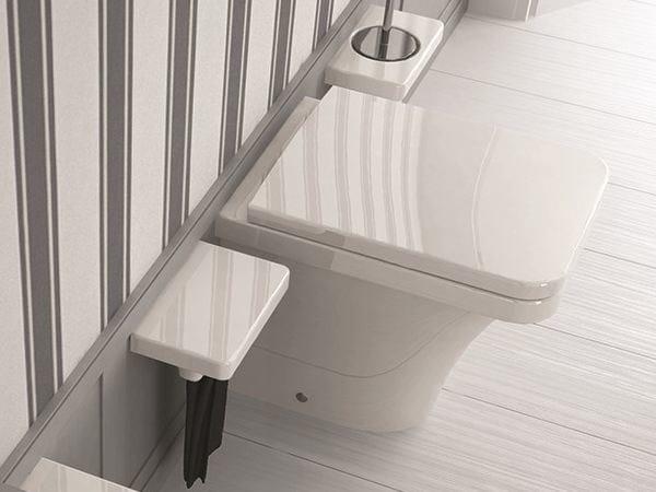 Ceramic toilet FLAT | Toilet by Hidra Ceramica
